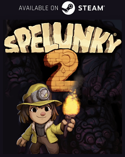 Spelunky 2 Steam free key download code