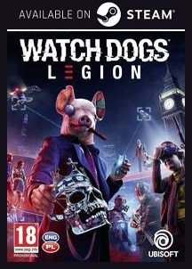 Watch Dogs Legion Steam free key download code