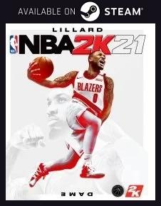 NBA 2K21 Steam free key download code