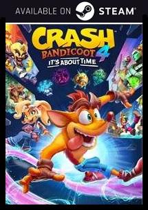 Crash Bandicoot 4 Steam free key download code