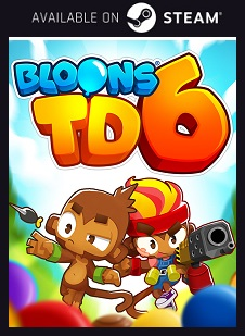 Bloons TD 6 Steam free key download code