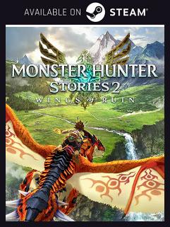 MONSTER HUNTER STORIES 2 Steam free key download code