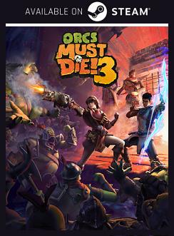 Orcs Must Die! 3 STEAM free redeem code download