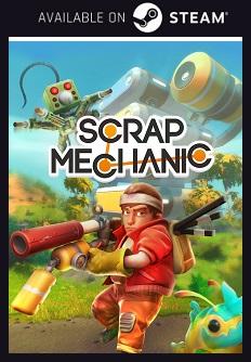 Scrap Mechanic Steam free key download code