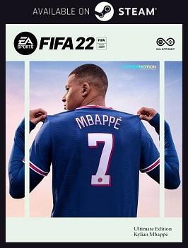 FIFA 22 Steam free key download code